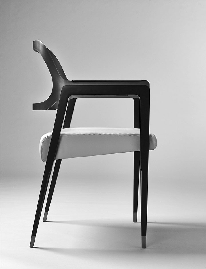 Carlton - Sedia made in Italy by Rossato