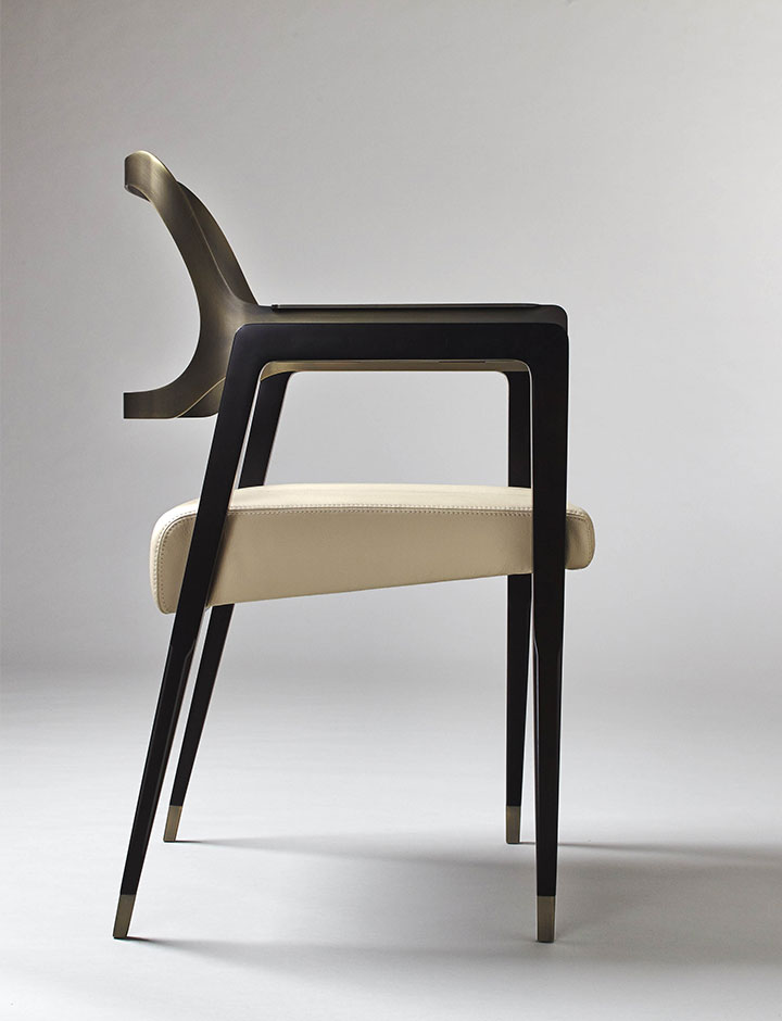 Carlton - Chair made in Italy by Rossato