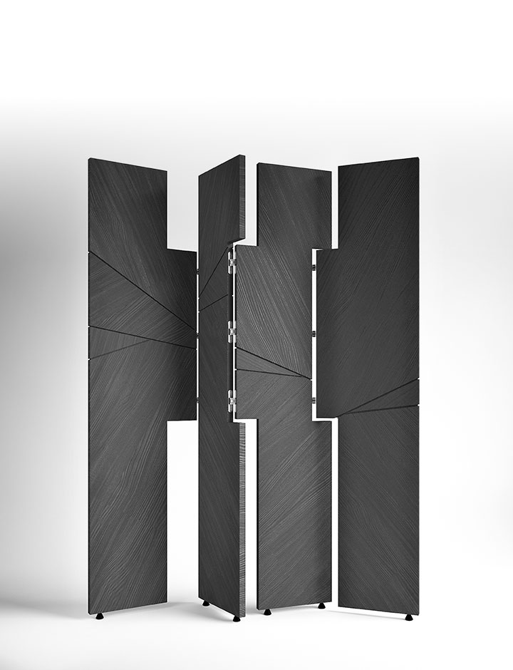 Hudson - Folding Screen made in Italy by Rossato