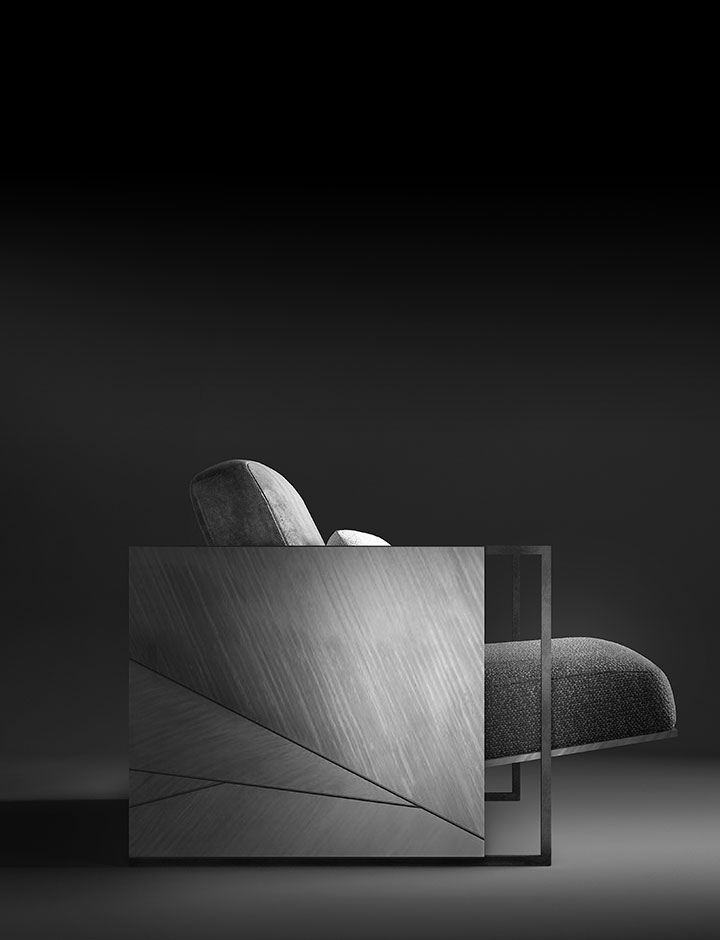 Mary - Armchair made in Italy by Rossato