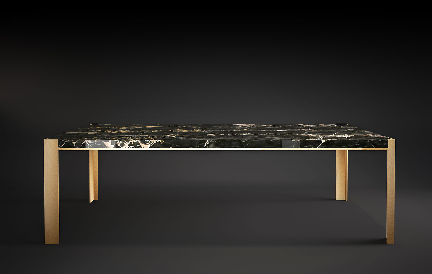 Stuart - Table made in Italy by Rossato