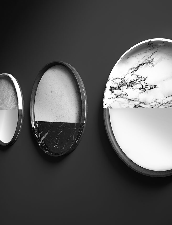 Vanity - Specchio made in Italy by Rossato