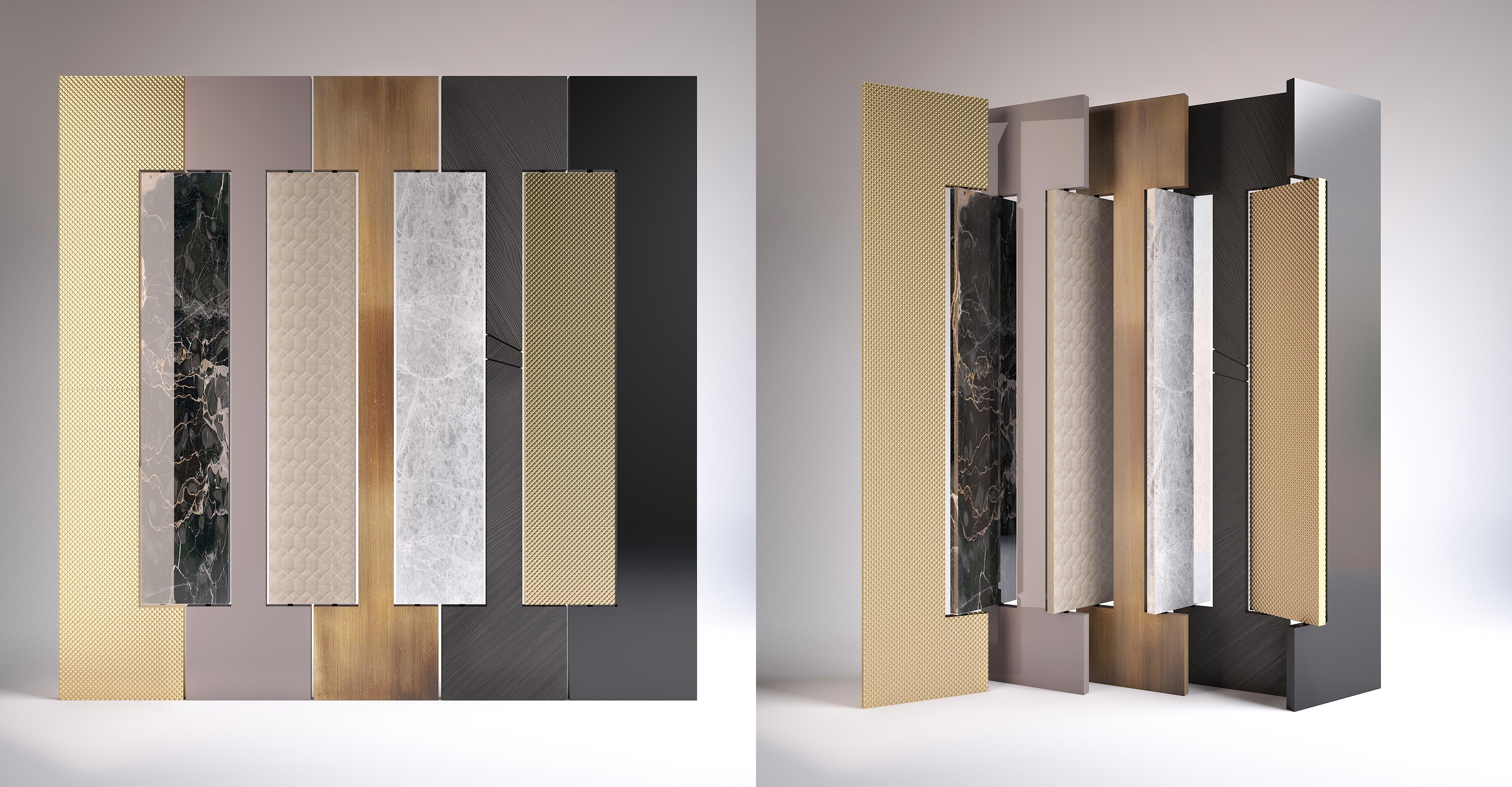 Empire - Folding Screen made in Italy by Rossato
