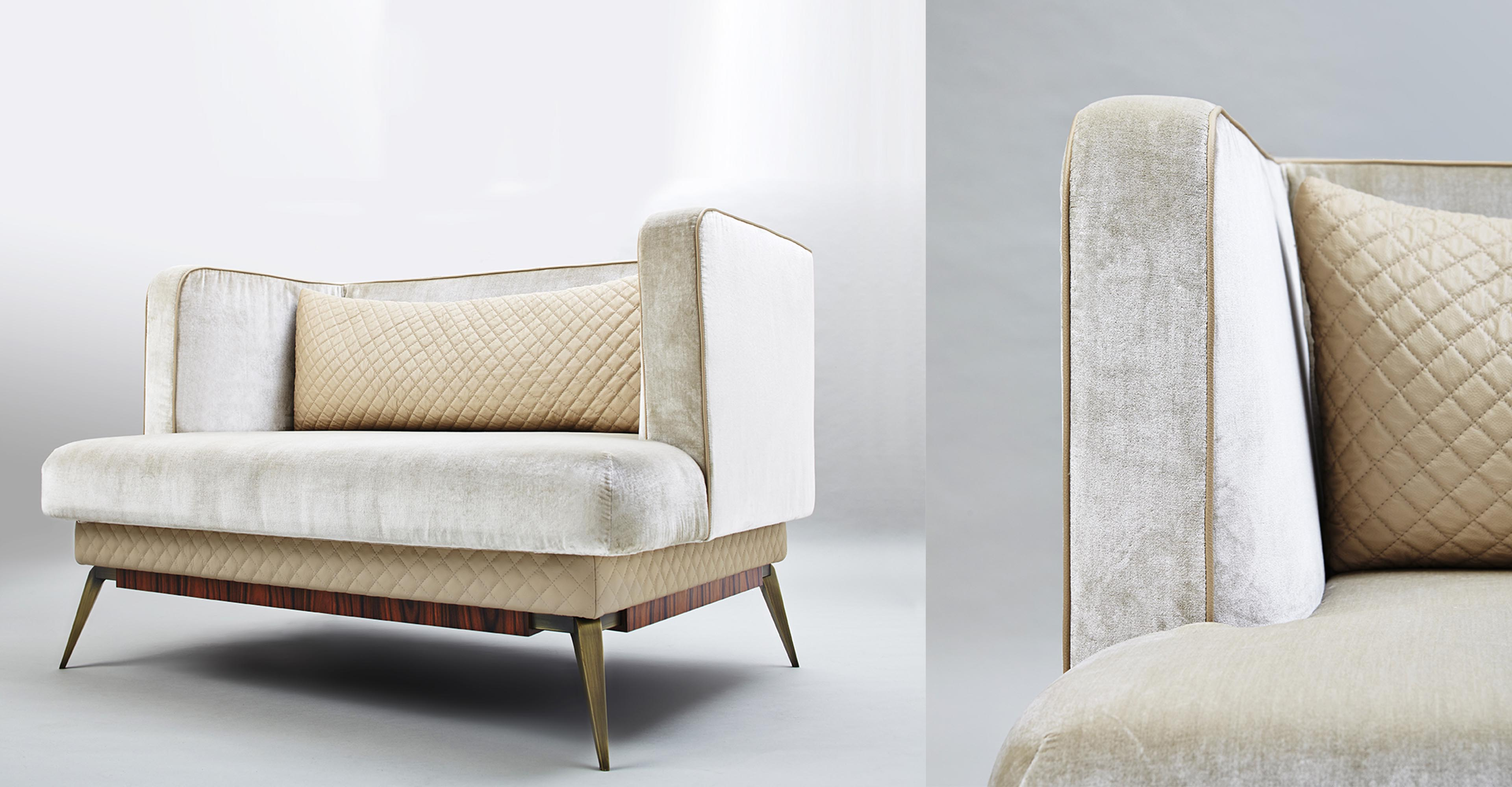 Victoria - Armchair made in Italy by Rossato