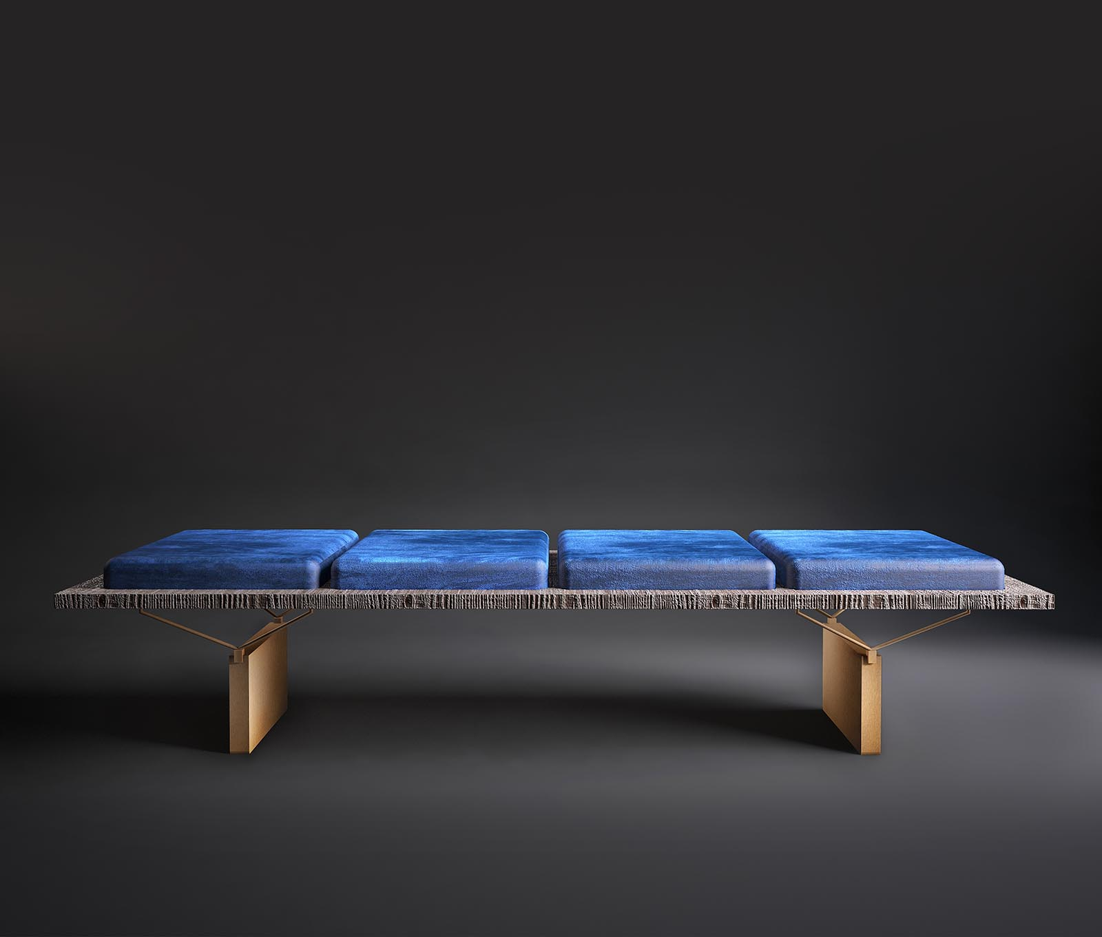 Stamford - Bench made in Italy by Rossato