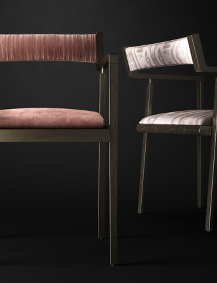 Henfield - Sedia made in Italy by Rossato
