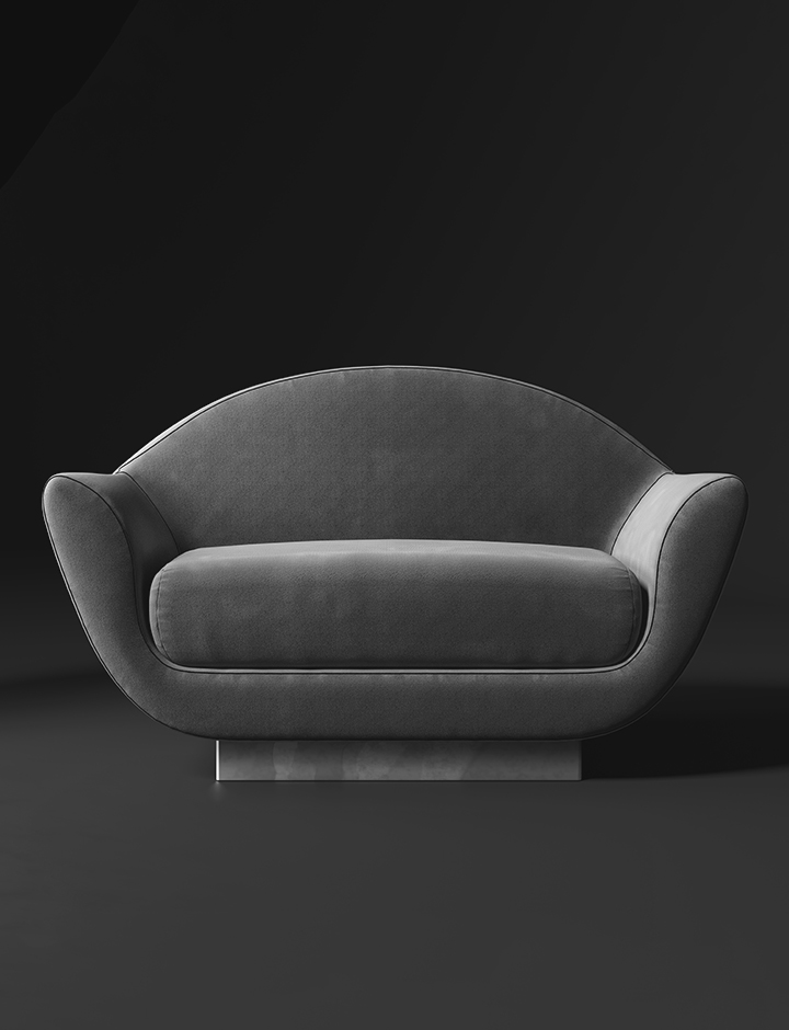 Keaton - Poltroncina made in Italy by Rossato